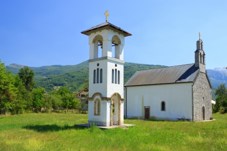 chappel: Catholic church in Gusinje, Montenegro