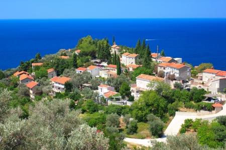 mediterranean house: View of Rezevici village in Montenegro