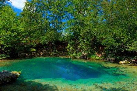 oko: Amazing view of Oko Skakavice in Ropojana valley