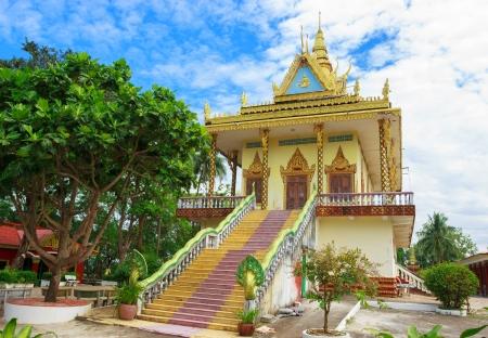 leu: Magnifica vista del Wat Leu a Sihanoukville