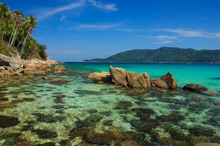 terengganu: Serene view on the seaside of Perhentian Kecil Island