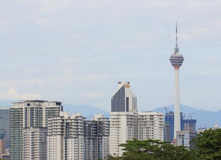 Panoramisch uitzicht op Kuala Lumpur