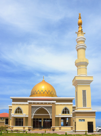 cameron highlands: Beautiful Mosque in Cameron Highlands