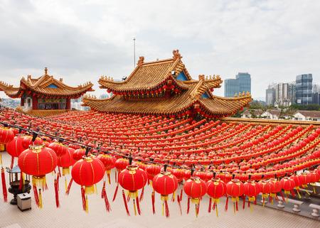 クアラルンプールでは、中国の寺院 Thean 法皇