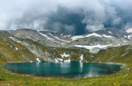 Amazing view of Aynali lake in national park Uludag Stock Photo