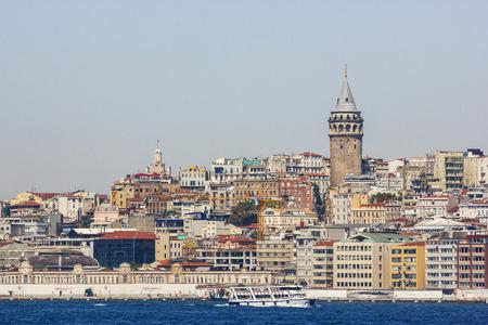 Beautiful view of Istanbul. Galata tower photo