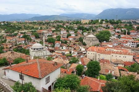 Mooi uitzicht op Safranbolu in Turkije