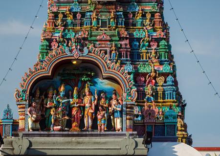hindu temple: Hindu temple in the center of Georgetown, Penang Island