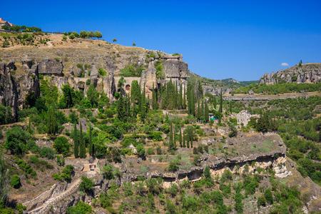 cuenca: Beautiful view of landscape near Cuenca