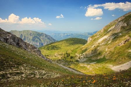 serene landscape: Serene View of Landscape in Visitor Mountains, Montenegro