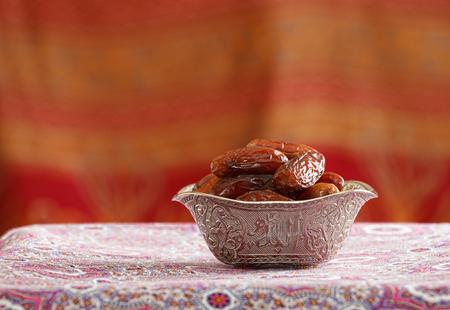 exotic fruit: Beautiful bowl full of date fruits