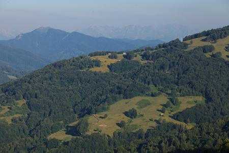 serene landscape: Serene View of Landscape in Mountains, Montenegro