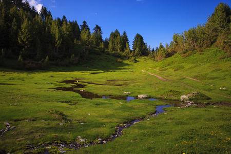 serene landscape: Serene View of Landscape in Prokletije Mountains, Montenegro