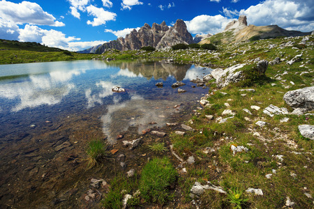 dolomite: Beautiful landscape in Dolomites. Mountains in Northern Italy