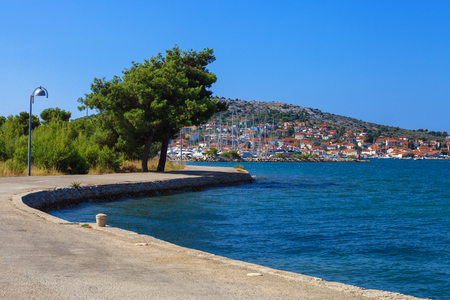 murter: Coast of Adriatic Sea on Murter island, Croatia