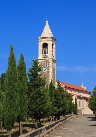 betina: Catholic church of Saint Michael in Murter Island, Croatia