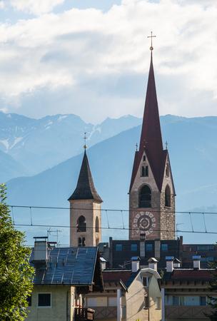 lorenzo: Church in San Lorenzo di Sebato near Bruneck, Italy
