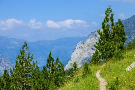 Serene View of Landscape in Prokletije Mountains, Montenegro