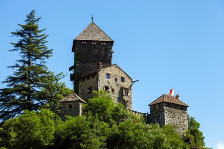 Beautiful Castle of Chiusa near Bolzano, Northern Italy