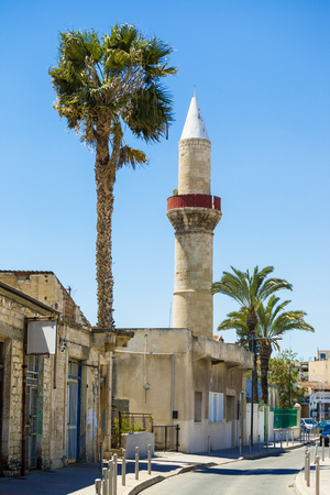 Mosque in the center of Limassol town, Cyprus