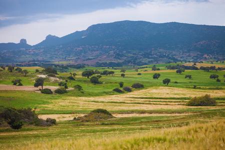Serene landscape in North Cyprus