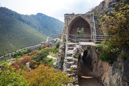 Saint Hilarion Castle in Girne (Kyrenia) North Cyprus Stockfoto