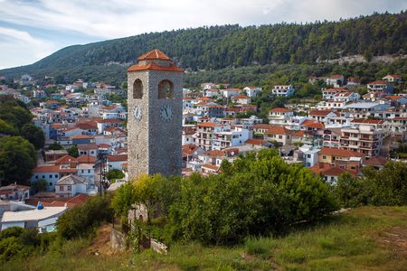 Old Clock Tower in Ulcinj town, Montenegro