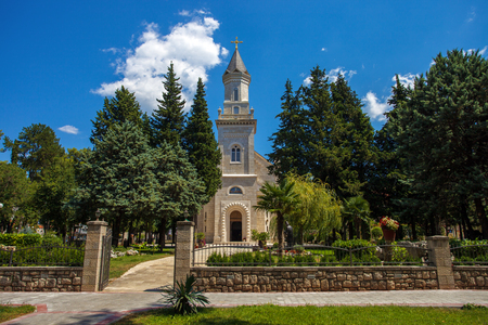 Beautiful Church in Trebinje town in a south of Bosnia and Herzegovina Stock Photo