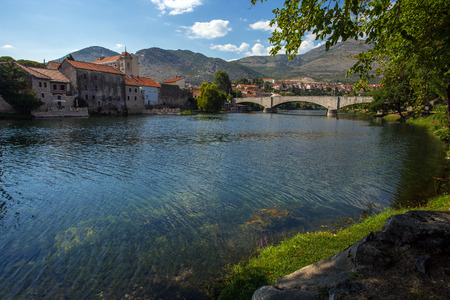 Panoramic view of Trebinje town, Bosnia and Herzegovina Stock Photo