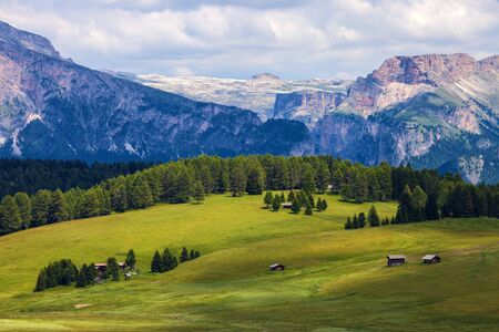 Amazing mountain landscape in Dolomite Alps, Italy
