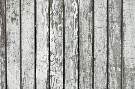 Weathered white wooden planks