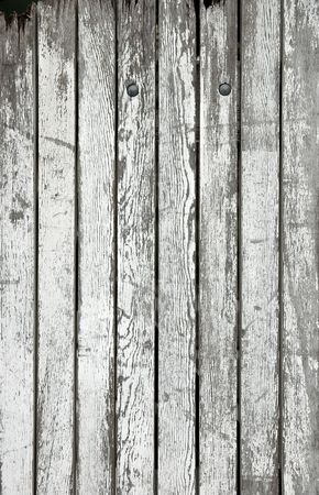 Weathered wooden boards photo