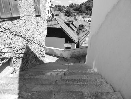 Stone steps Stock fotó