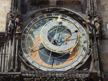 The astronomy clock Banco de Imagens