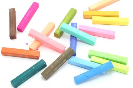 color chalk pastel photo