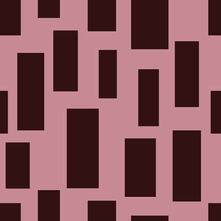 Vector pink geometric rectangle seanless repeat background
