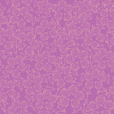 Vector lavender fish textured seamless repeat pattern background