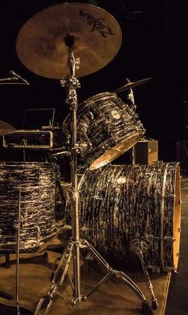 Life of a Drummer Фото со стока