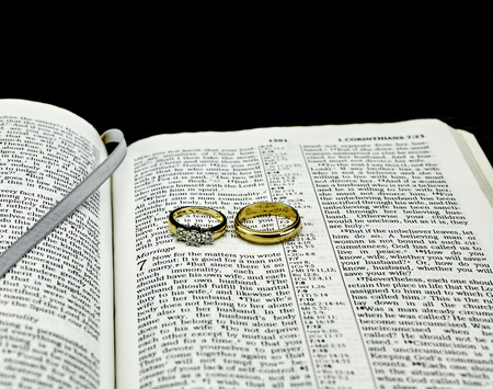 isaiah: Bible on Marriage with Two Wedding Rings