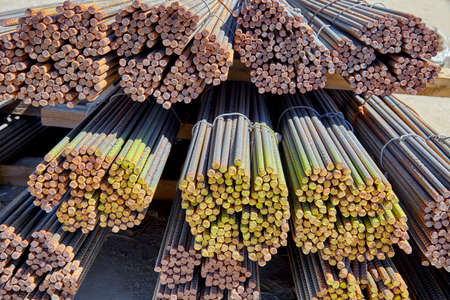 reinforcing: steel rebar and mesh for concrete reinforcing construction building industry