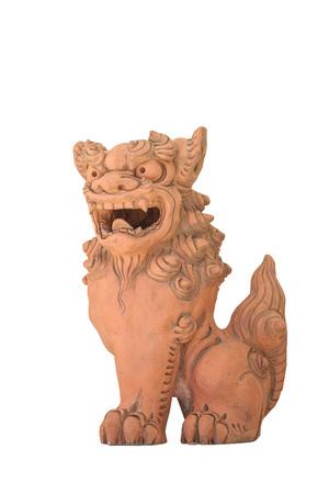 Shisa (Okinawan lion statues, used as talisman against evil)