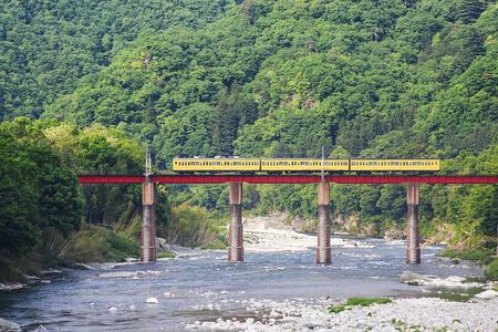 鉄道橋 写真素材