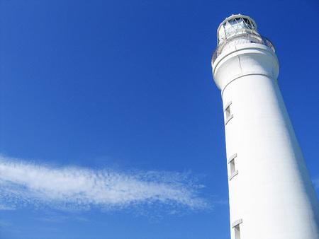 灯台 写真素材