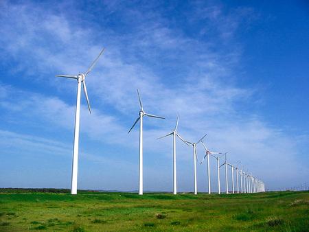 wind-power generation 写真素材