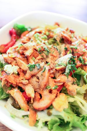 鶏サラダ 写真素材 - 90226571
