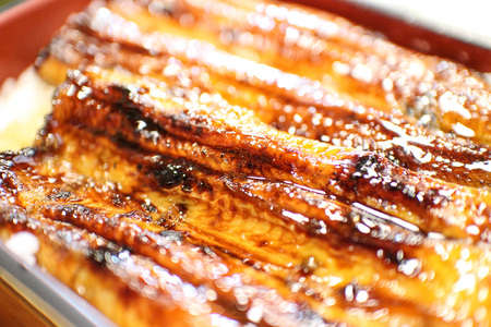 Grilled eel and rice 写真素材 - 99893321