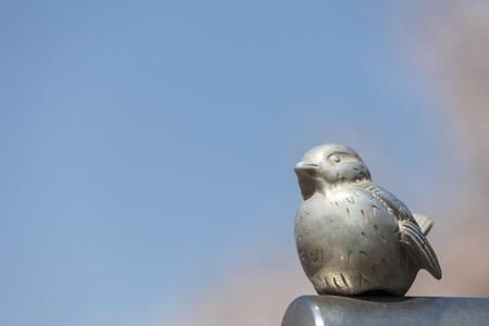 Bird sculpture 写真素材