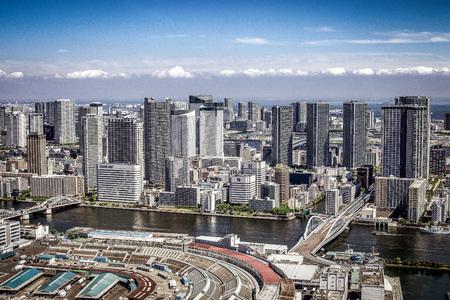 高層マンションと高層ビル 写真素材 - 100375272