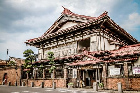 Modern Japanese style house 写真素材 - 100382421