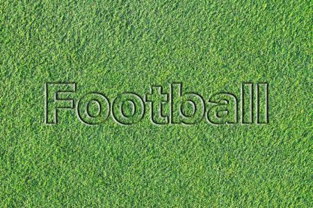 人工芝に関するメッセージ (フットボル) 写真素材 - 101892269